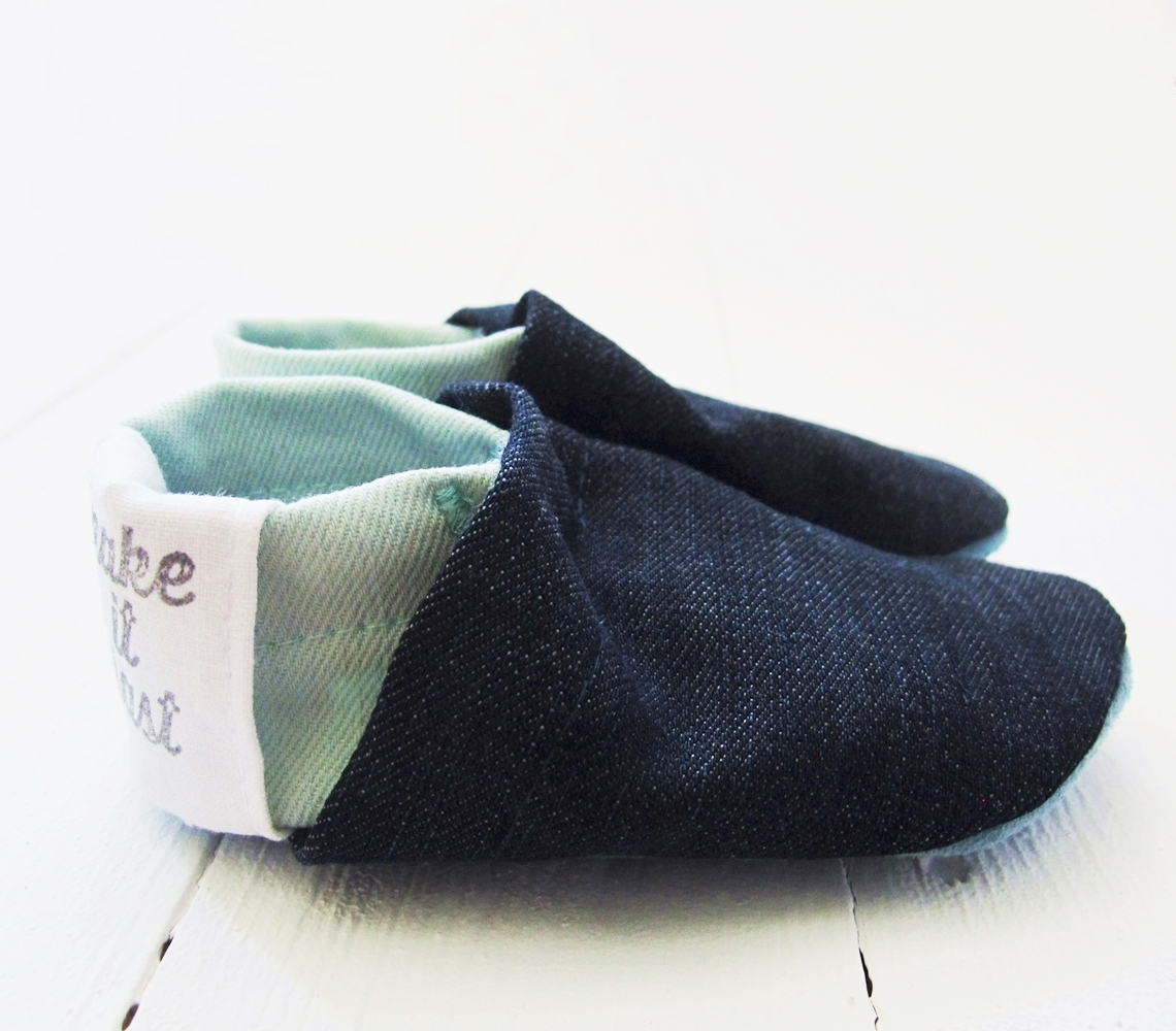 Puschen Eco Baby Booties Colorblock